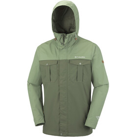 Columbia Weiland Crossing Jacket Men peatmoss/mosstone